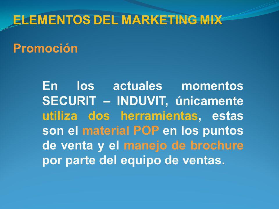 ELEMENTOS DEL MARKETING MIX