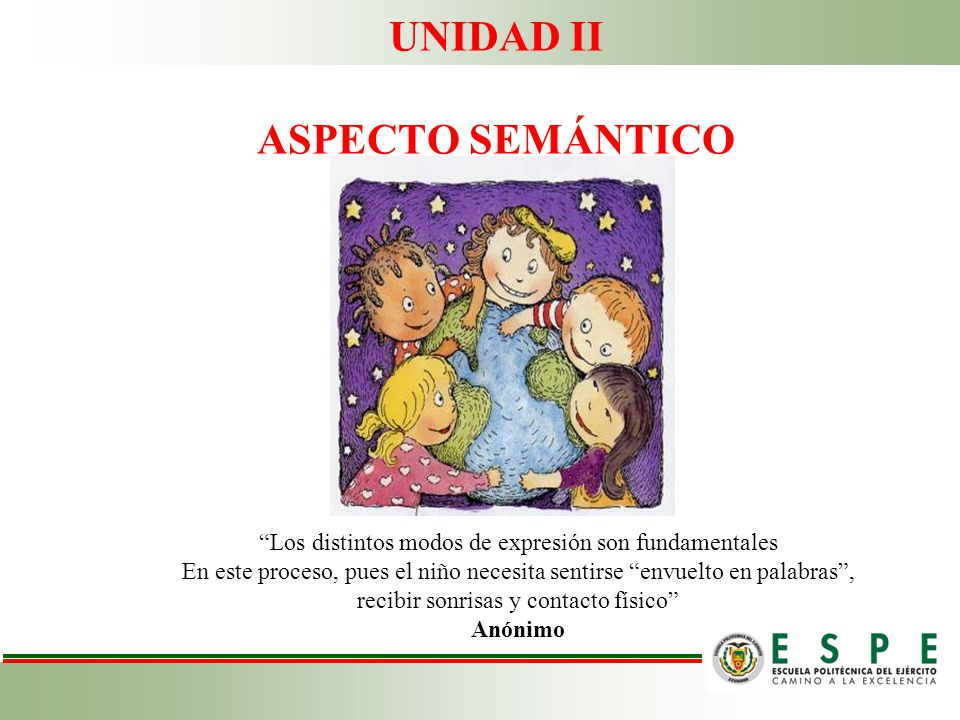 UNIDAD II ASPECTO SEMÁNTICO