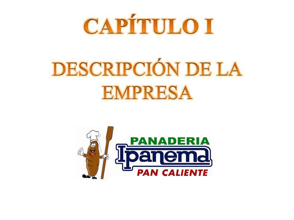 CAPÍTULO I DESCRIPCIÓN DE LA EMPRESA
