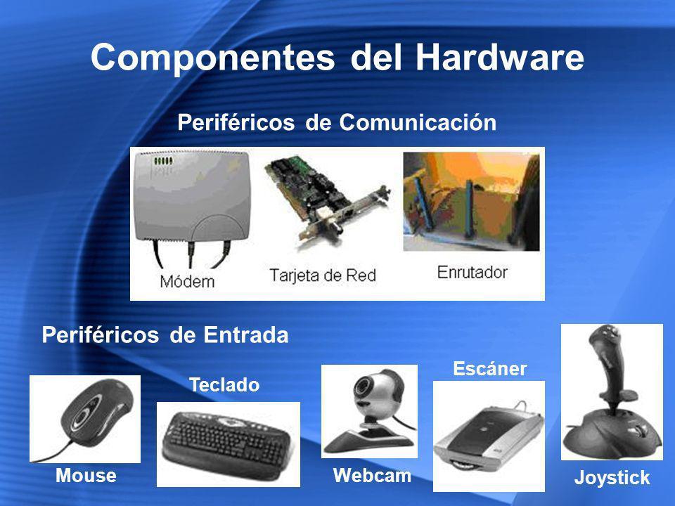 Componentes del Hardware Periféricos de Comunicación