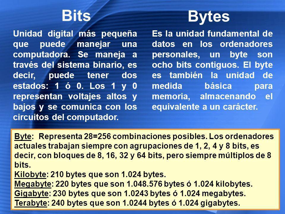 Bits Bytes.
