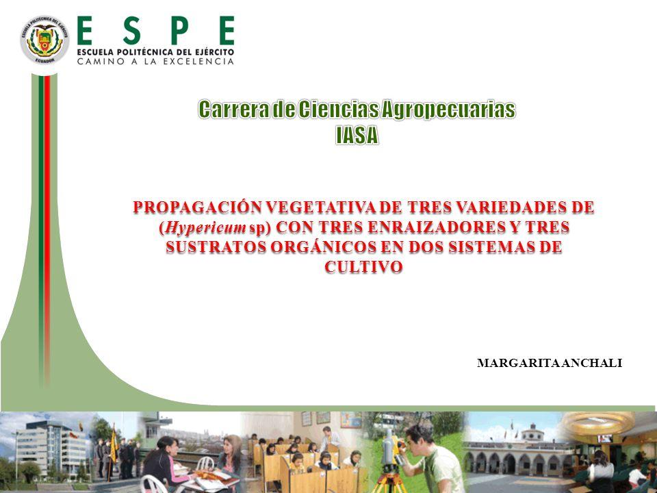 Carrera de Ciencias Agropecuarias