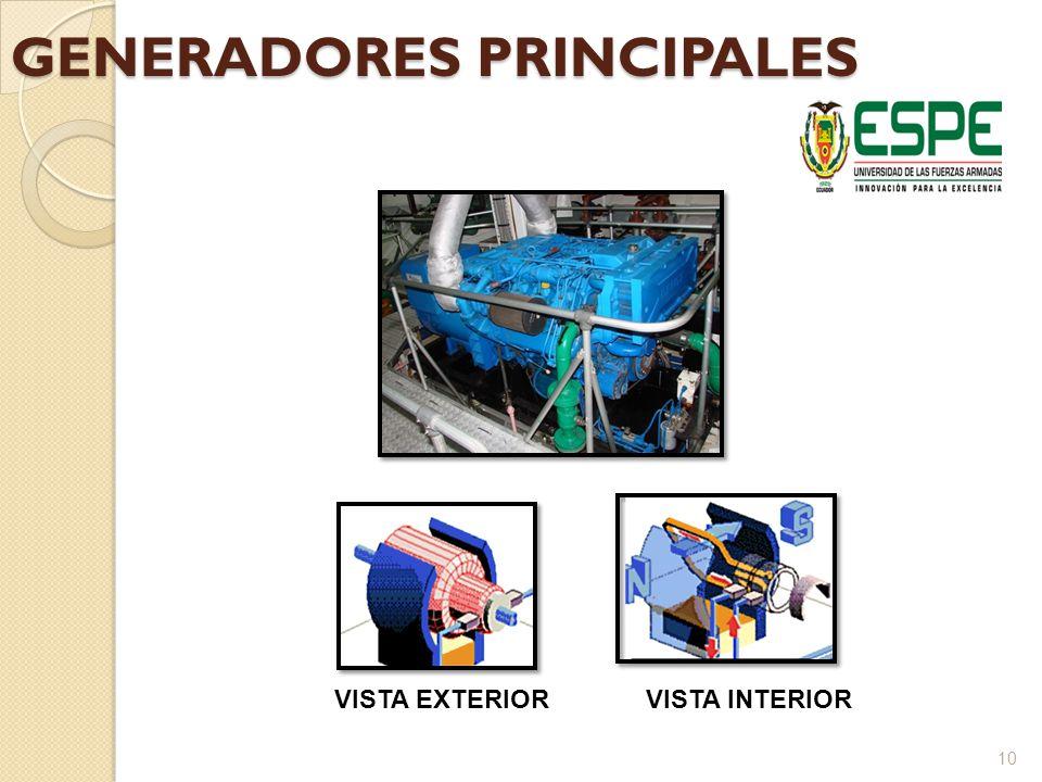 GENERADORES PRINCIPALES