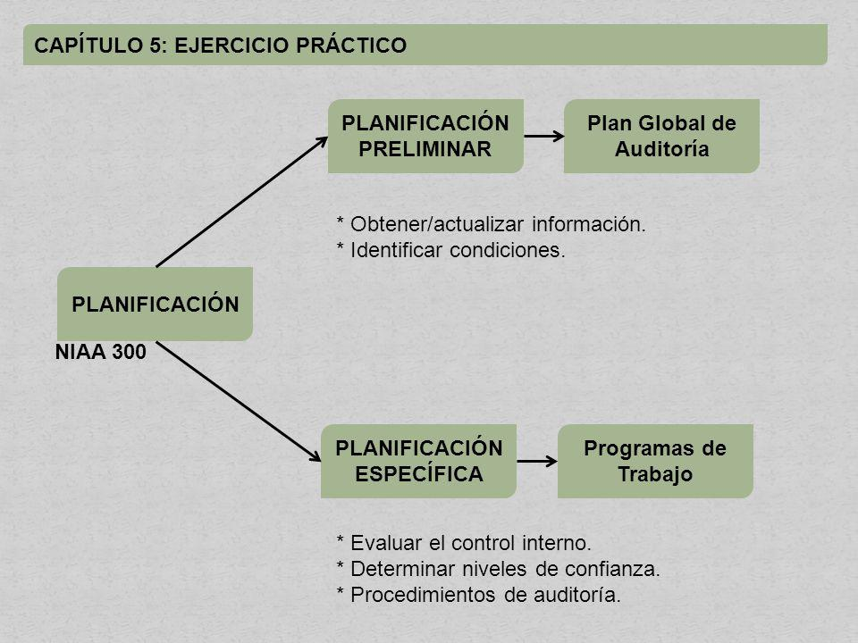 Plan Global de Auditoría