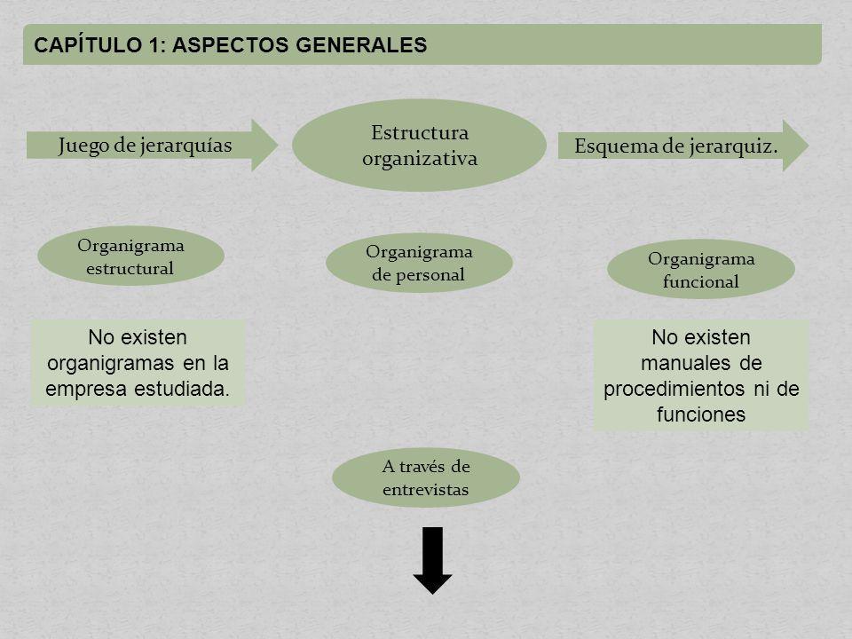 CAPÍTULO 1: ASPECTOS GENERALES