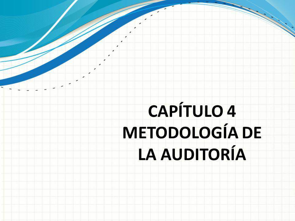 CAPÍTULO 4 METODOLOGÍA DE LA AUDITORÍA