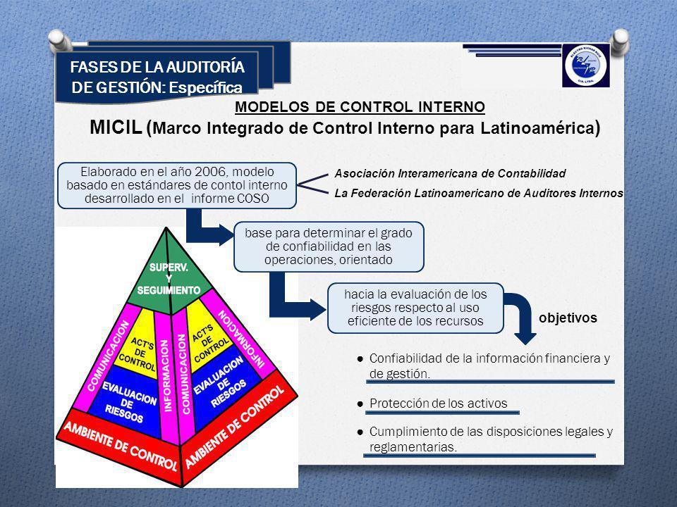MICIL (Marco Integrado de Control Interno para Latinoamérica)