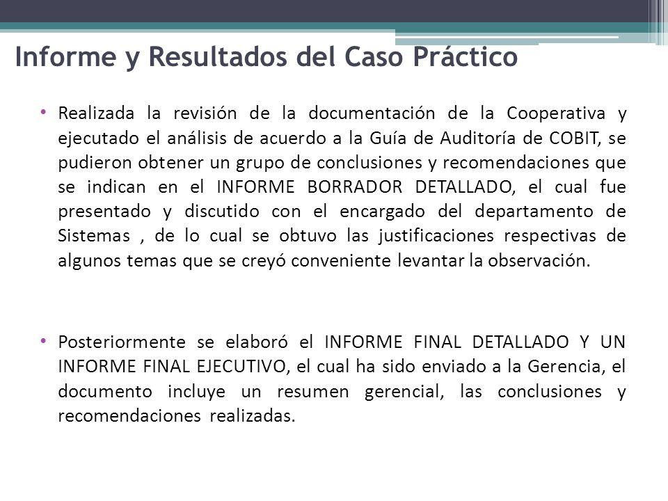 Informe y Resultados del Caso Práctico