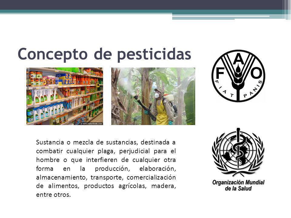 Concepto de pesticidas