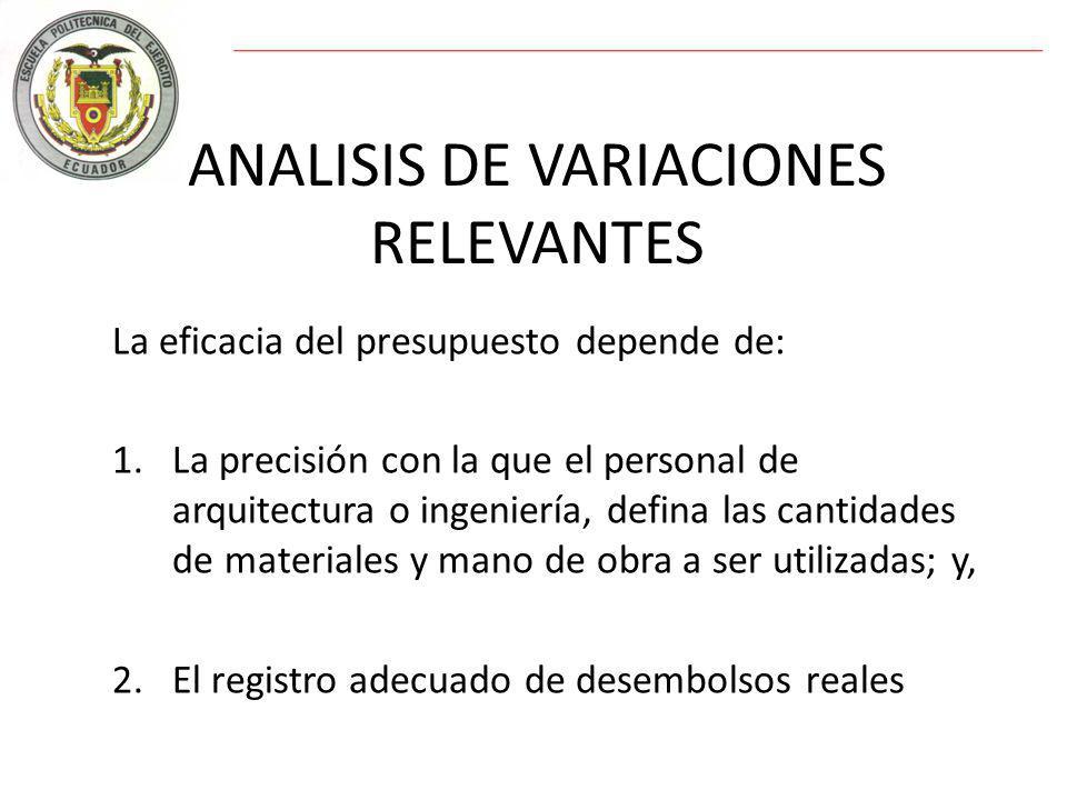 ANALISIS DE VARIACIONES RELEVANTES