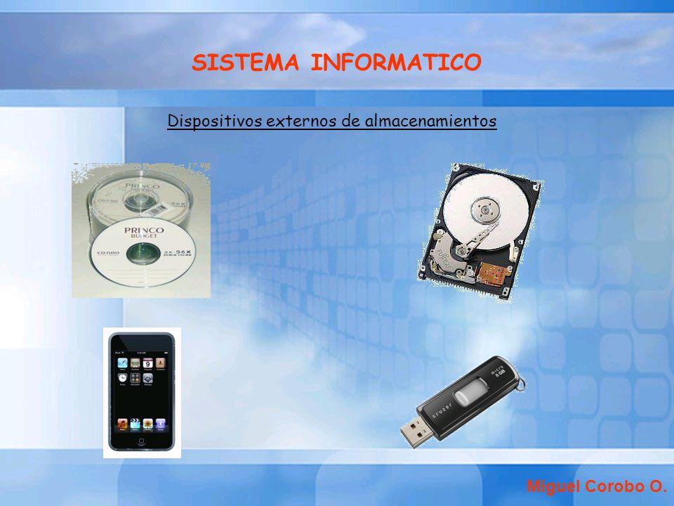 Dispositivos externos de almacenamientos