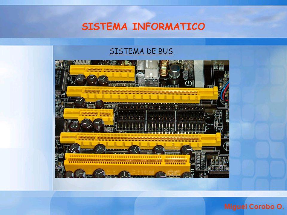 SISTEMA INFORMATICO SISTEMA DE BUS Miguel Corobo O.