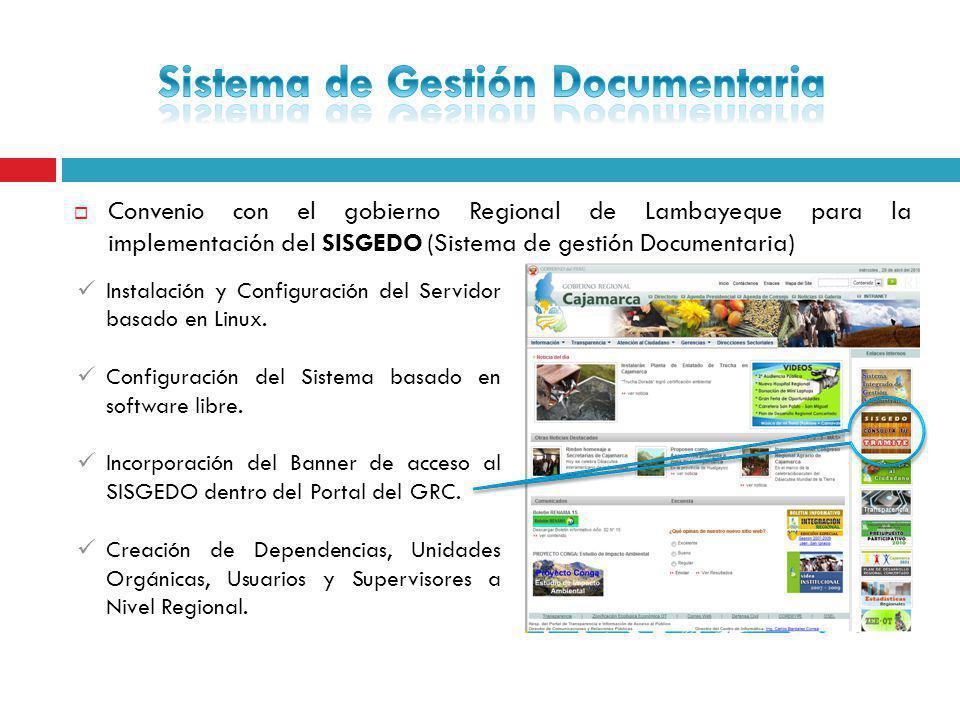 Sistema de Gestión Documentaria