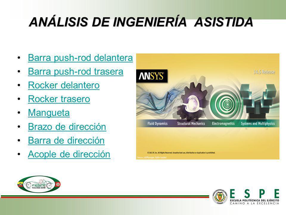 ANÁLISIS DE INGENIERÍA ASISTIDA