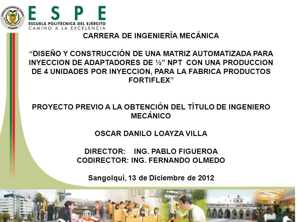 CODIRECTOR: ING. FERNANDO OLMEDO Sangolquí, 13 de Diciembre de 2012