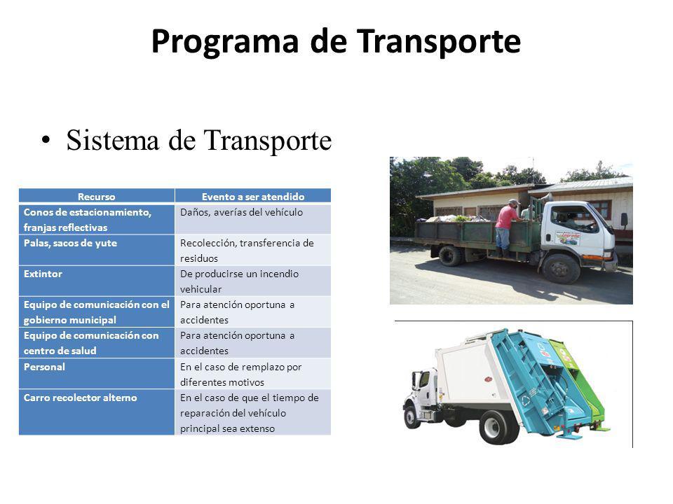 Programa de Transporte