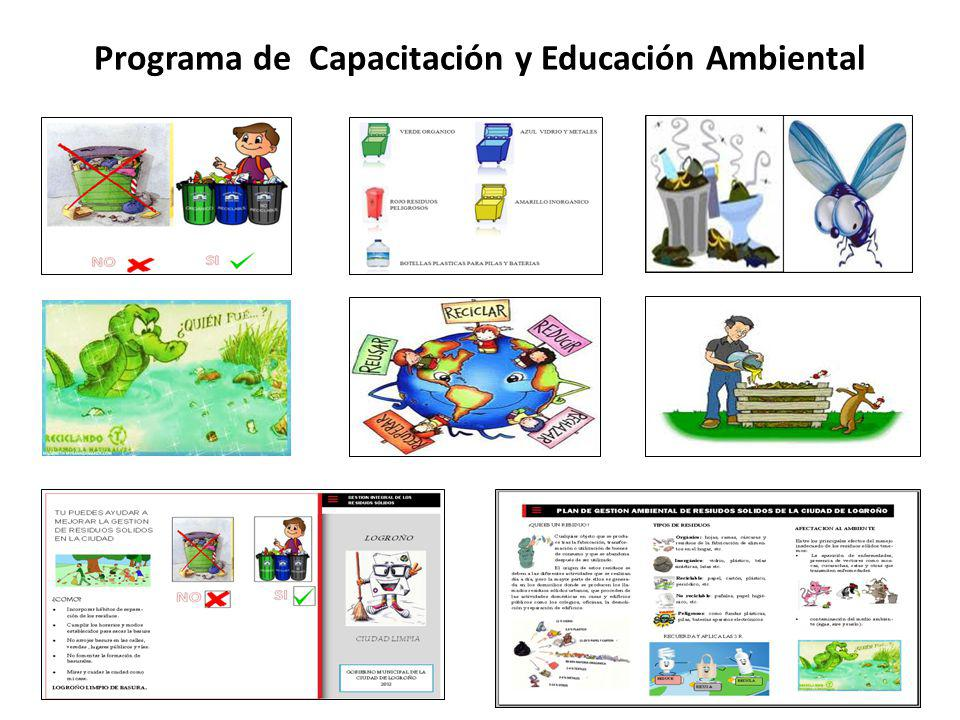 Programa de Capacitación y Educación Ambiental