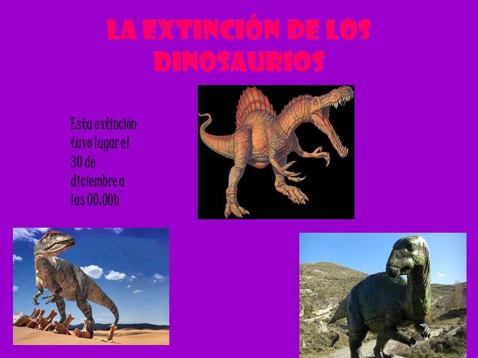 La extinción de los dinosaurios