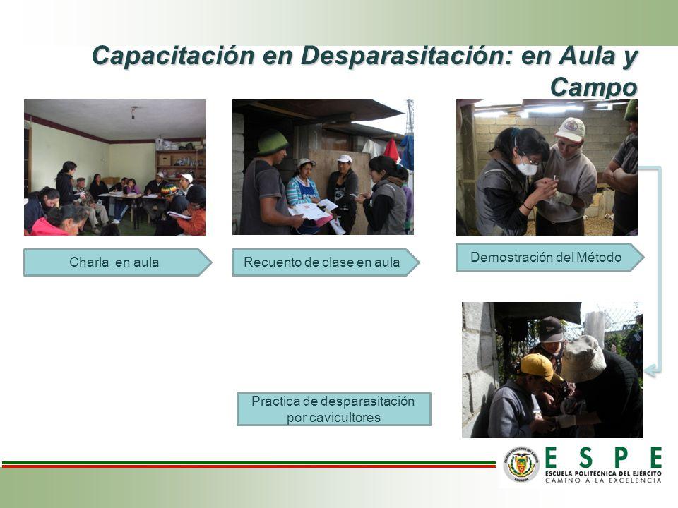 Capacitación en Desparasitación: en Aula y Campo