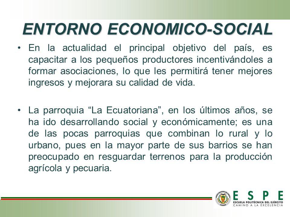 ENTORNO ECONOMICO-SOCIAL