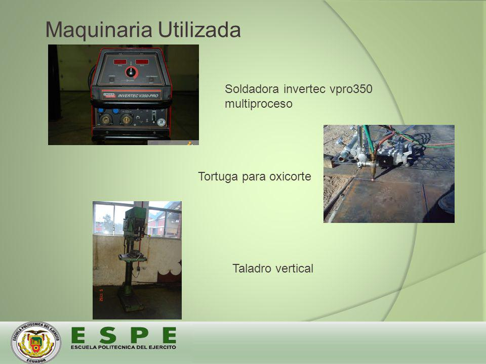 Maquinaria Utilizada Soldadora invertec vpro350 multiproceso