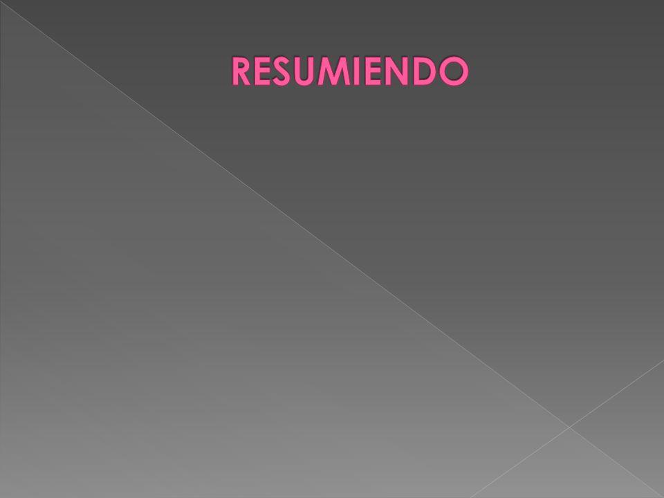 RESUMIENDO