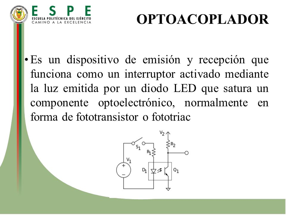 OPTOACOPLADOR