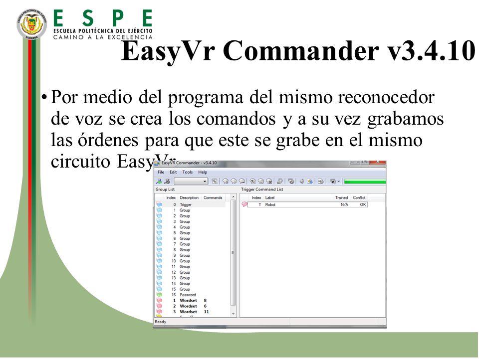 EasyVr Commander v3.4.10