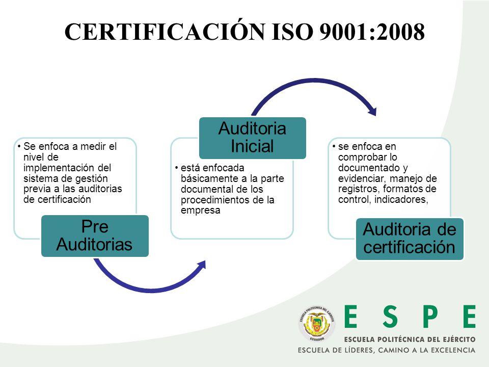 Auditoria de certificación