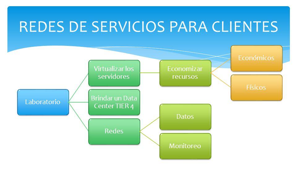 REDES DE SERVICIOS PARA CLIENTES