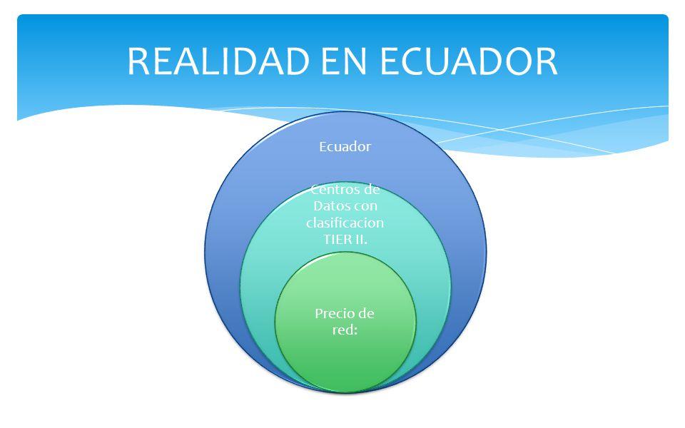 Centros de Datos con clasificacion TIER II.