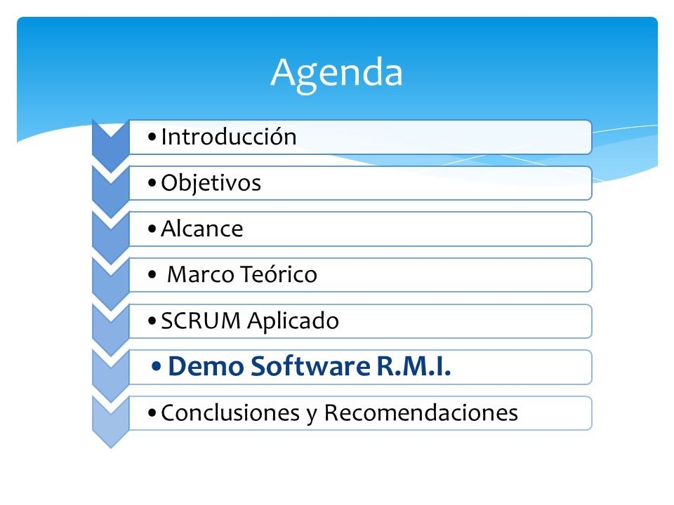 Agenda Demo Software R.M.I.