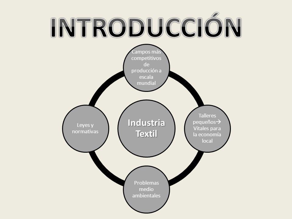 INTRODUCCIÓN Industria Textil