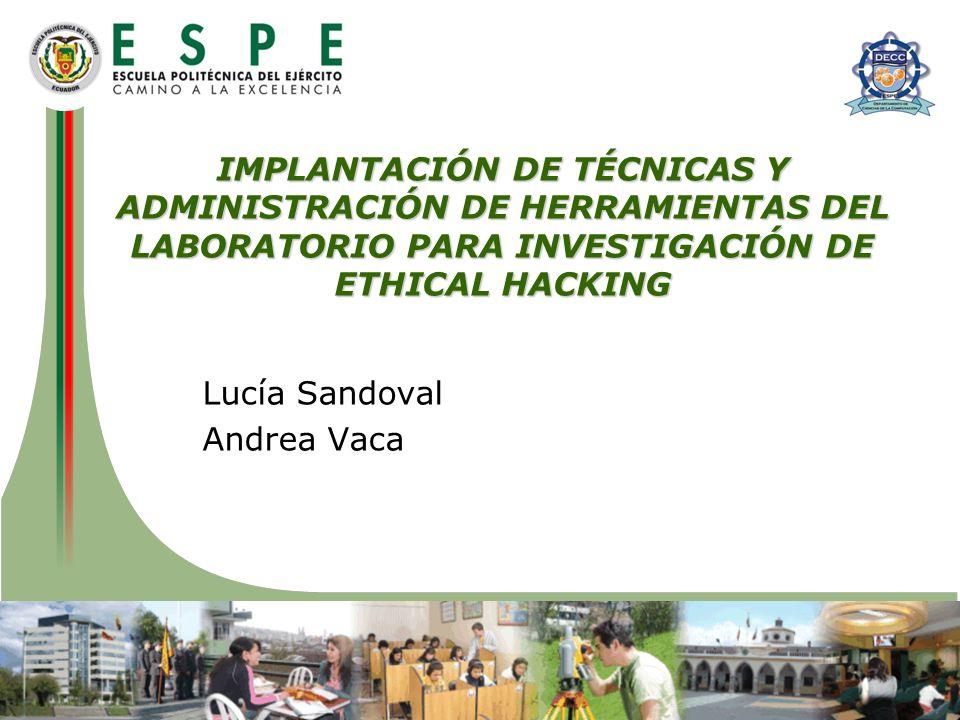 Lucía Sandoval Andrea Vaca
