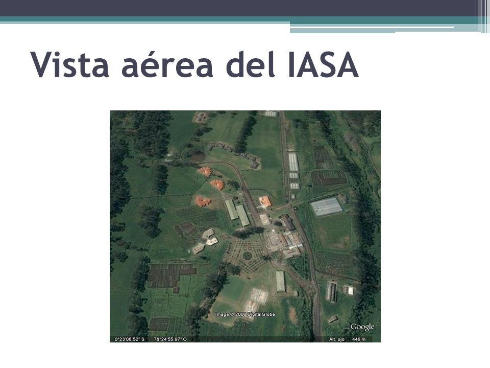 Vista aérea del IASA
