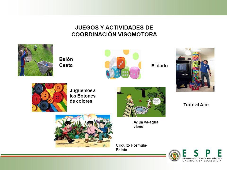 JUEGOS Y ACTIVIDADES DE COORDINACIÓN VISOMOTORA