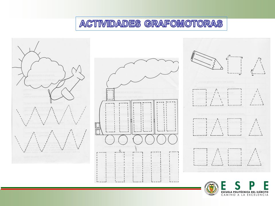 ACTIVIDADES GRAFOMOTORAS