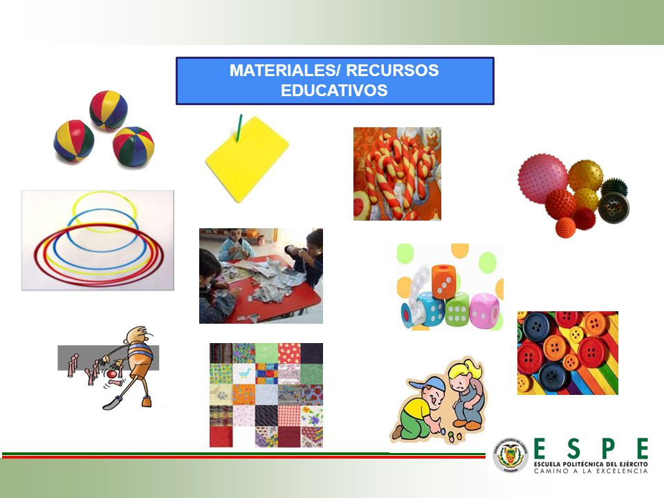 MATERIALES/ RECURSOS EDUCATIVOS