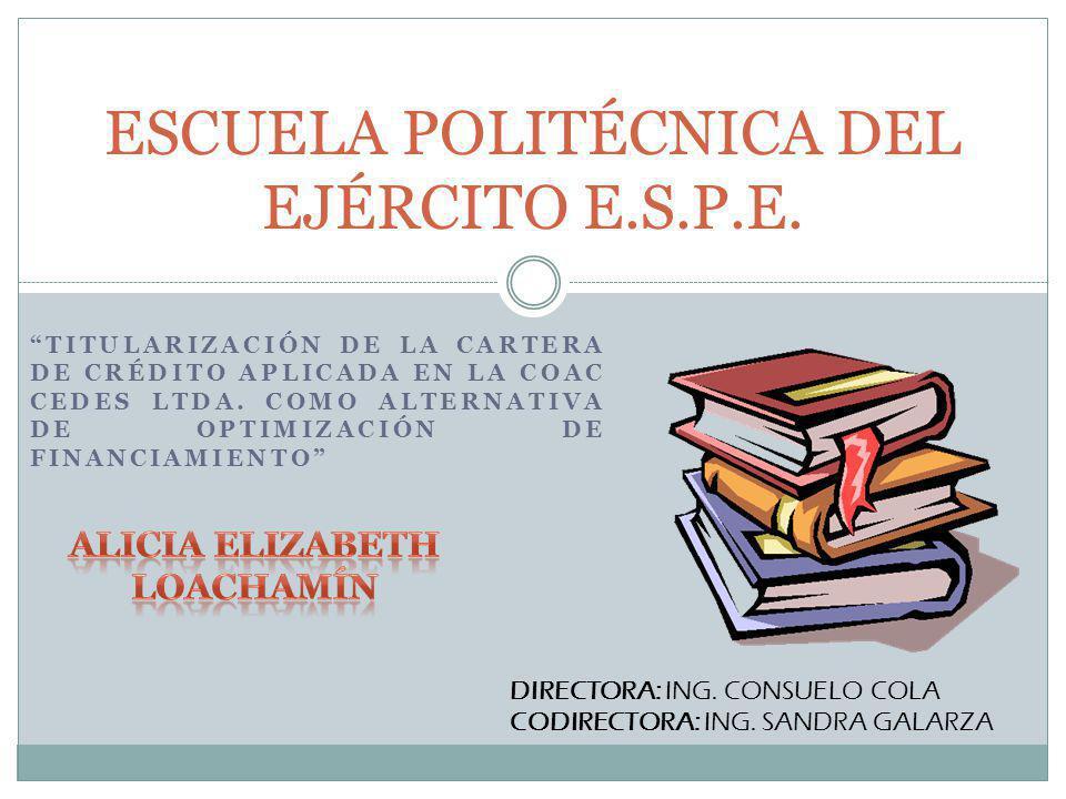 ESCUELA POLITÉCNICA DEL EJÉRCITO E.S.P.E.