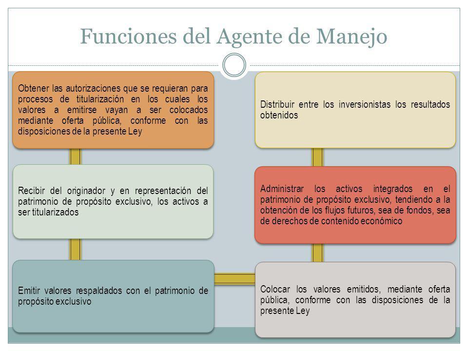 Funciones del Agente de Manejo