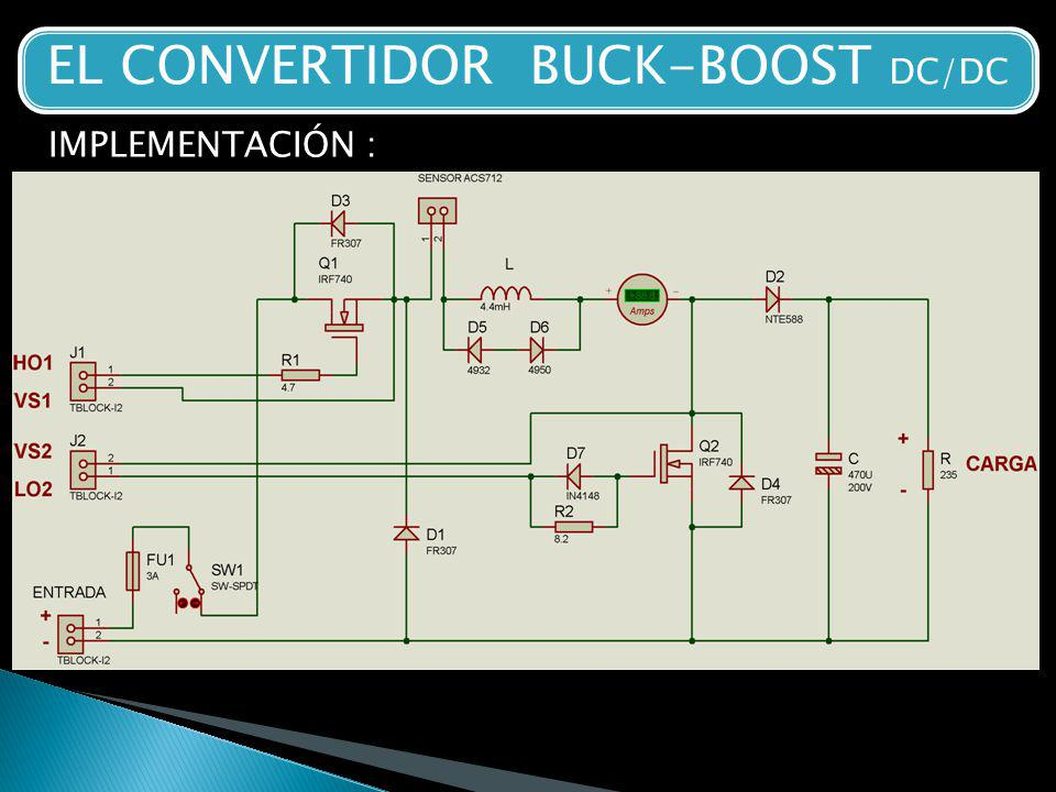 EL CONVERTIDOR BUCK-BOOST DC/DC