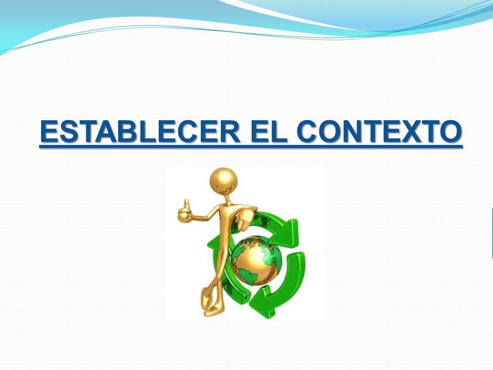 ESTABLECER EL CONTEXTO