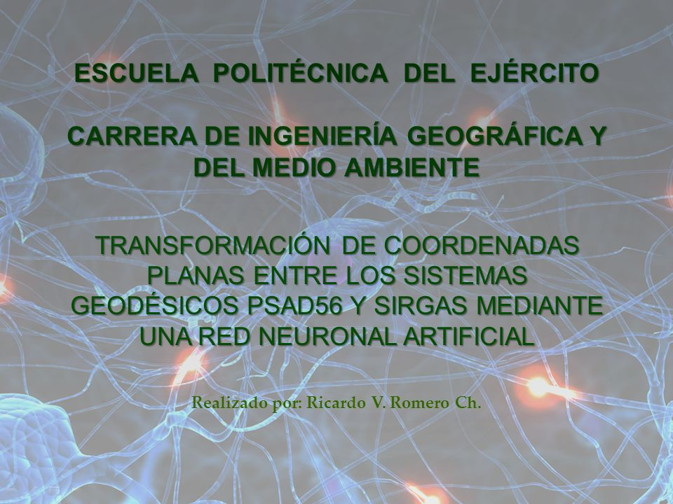 Realizado por: Ricardo V. Romero Ch.