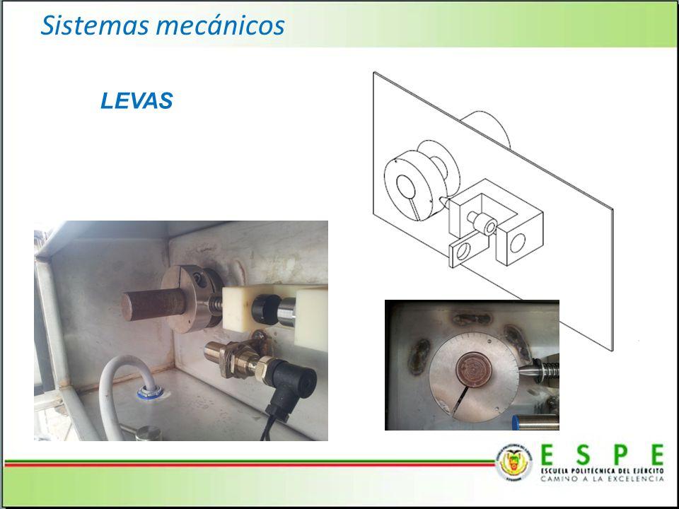 Sistemas mecánicos LEVAS 15