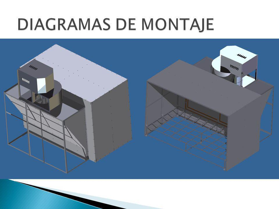 DIAGRAMAS DE MONTAJE