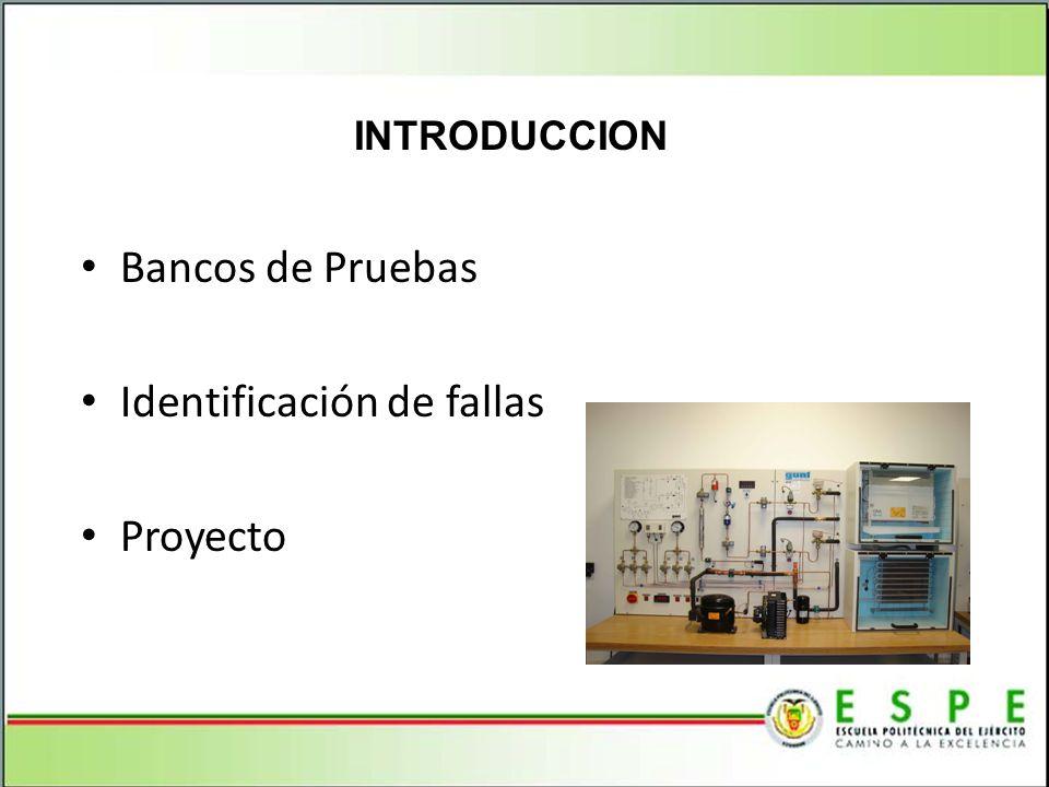 Identificación de fallas Proyecto