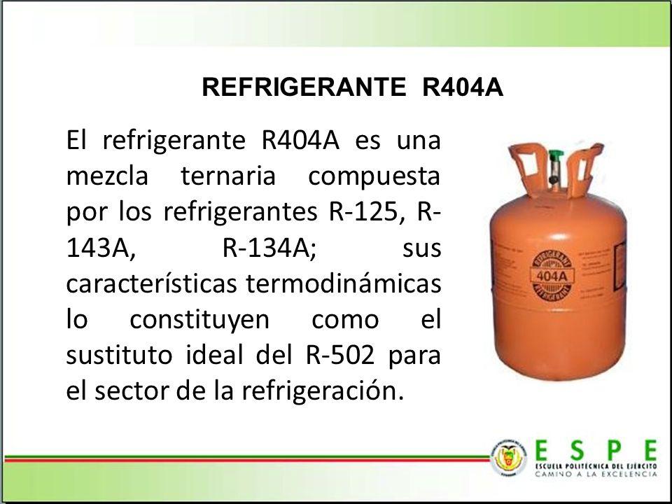 REFRIGERANTE R404A