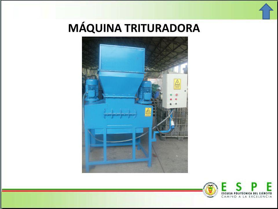 MÁQUINA TRITURADORA