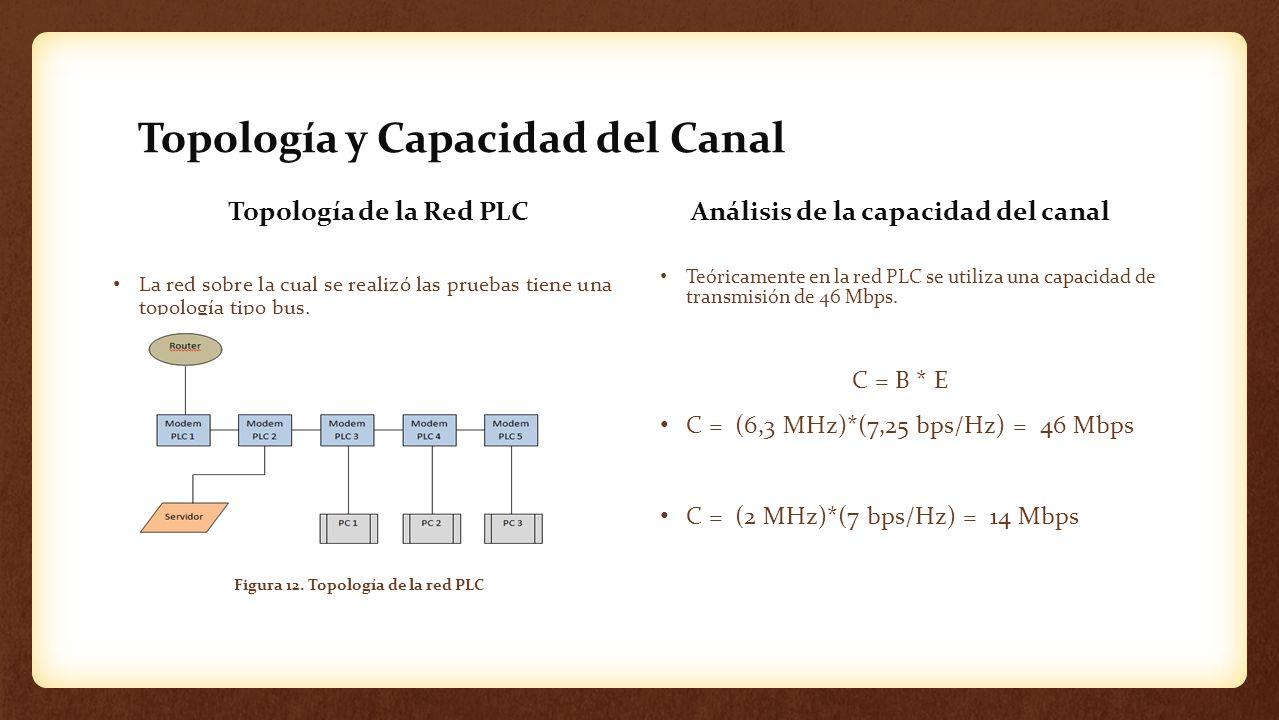 Topología y Capacidad del Canal