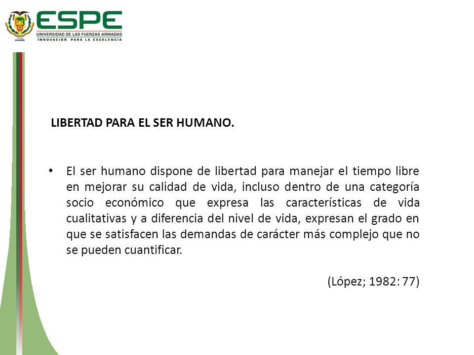 LIBERTAD PARA EL SER HUMANO.